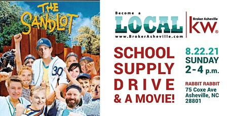 School Supply Drive & Special Screening of The Sandlot tickets