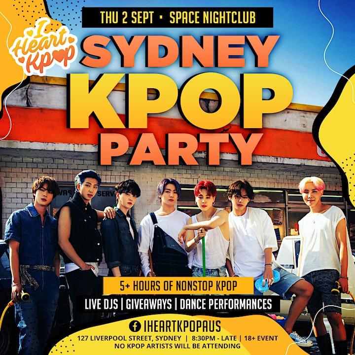 SYDNEY KPOP PARTY | 2021 RETURN | THU 28 OCT image