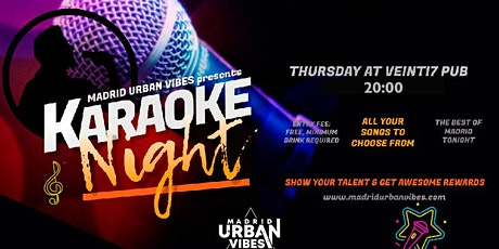 Karaoke Night & Language Exchange! Thursday entradas