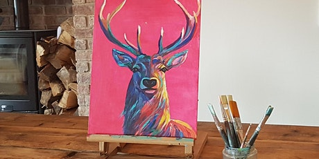 'Bright Stag' painting workshop & Christmas board tickets
