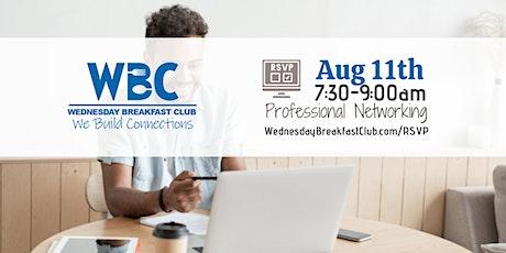 Wednesday Breakfast Club - August 11th tickets