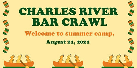 Charles River Summer Camp Bar Crawl 2021 tickets