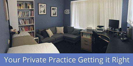 Your Private Practice Getting it Right Workshop Sydney October 2021 tickets