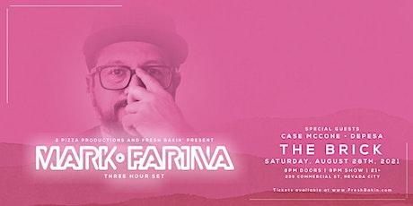 Mark Farina [Three Hour Set] at The Brick tickets