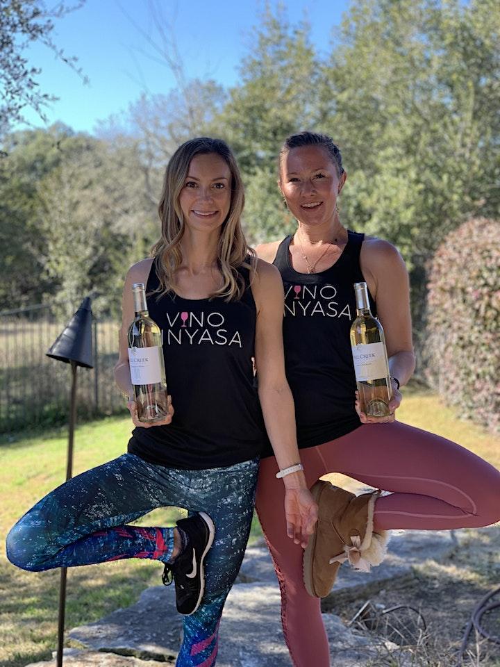 Vino Vinyasa at Fall Creek Vineyards image