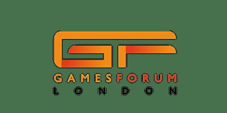 Gamesforum London 2021 tickets