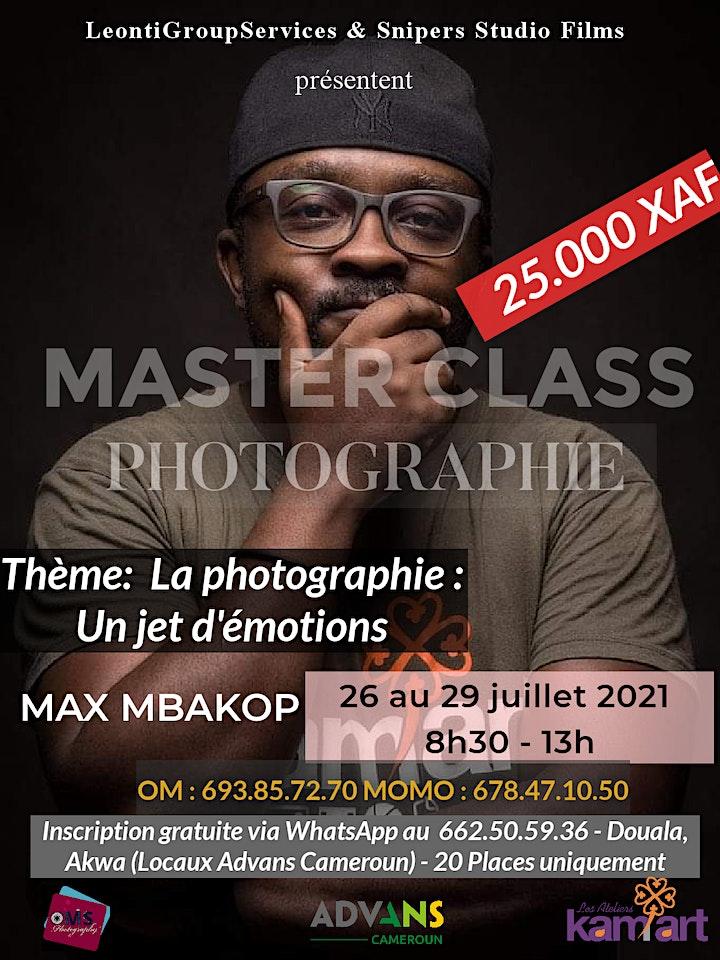 Image pour MASTER CLASS PHOTOGRAPHIE & VIDÉO