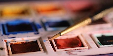 Free Watercolour workshop (60+) tickets