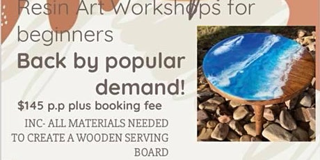 Resin art workshop for adults : ALICE SPRINGS . tickets