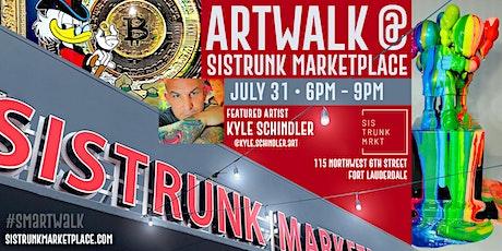 ARTWALK at Sistrunk Marketplace #SMArtWalk: Showcasing @Kyle.Schindler.Art tickets