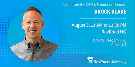RevU: Brock Blake — The Battle to $80 Million tickets