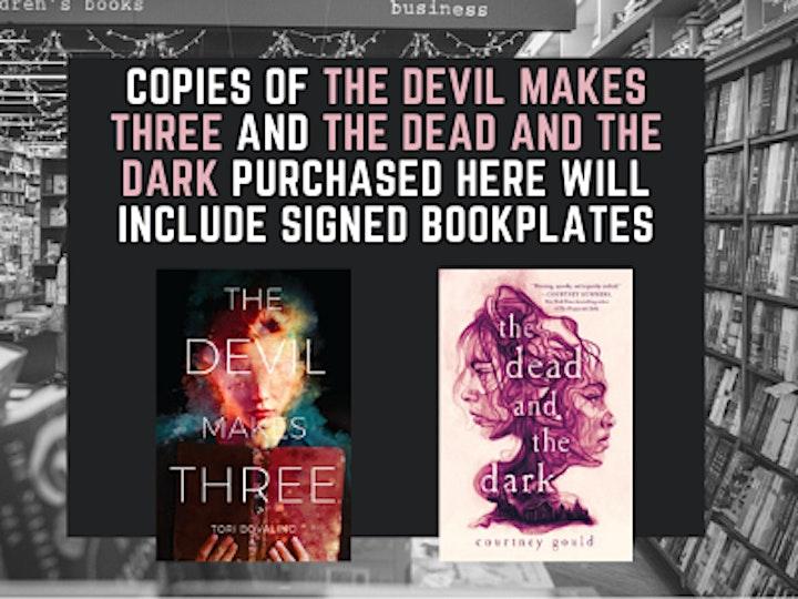 YA Horror with Tori Bovalino, Courtney Gould, Sam Schill, & Allison Saft! image
