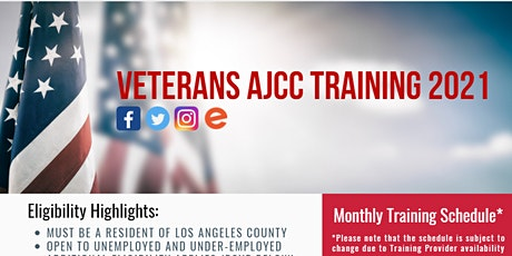 Vocational Training for Veterans Fall 2021 - Los Angeles tickets