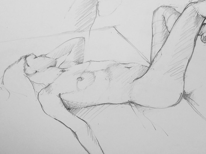 Life Drawing - Model as Muse image