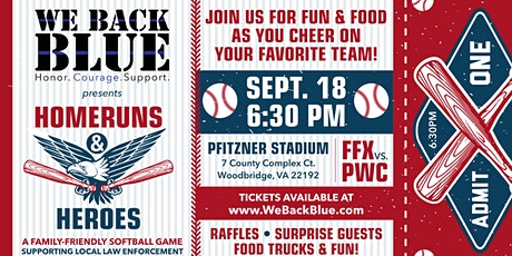 We Back Blue Presents: Homeruns and Heroes tickets