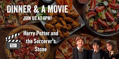 Dinner & a Movie - Harry Potter 1 tickets