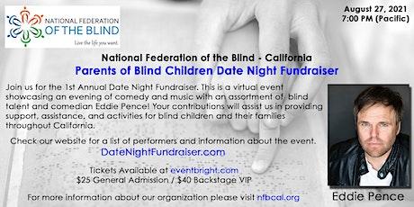 Date Night Fundraiser - NFB  California Parents of Blind Children Division tickets
