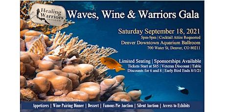 Waves, Wine & Warriors Fall Gala -Denver Aquarium tickets