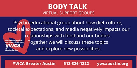 Body Talk - Wednesday Group - YWCA Greater Austin tickets