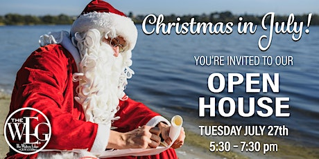 Christmas in July! Open House tickets