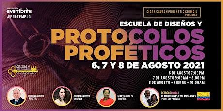 Escuela de DISEÑOS y PROTOCOLOS PROFETICOS Palm Beach 2021 tickets