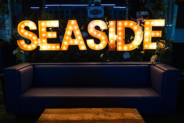 SEASIDE SATURDAY NIGHT LIVE - RSVP NOW for FREE ENTRY. image