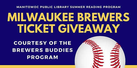 Milwaukee Brewer's Ticket Giveaway! (Aug 3 @ 7:10PM - Set of 2 Tickets) tickets