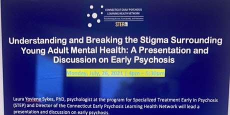 Understanding and Breaking the Stigma Surrounding Young Adult Mental Health tickets