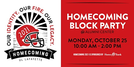 Homecoming Block Party Vendors tickets