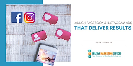 Live Webinar: Launch Facebook & Instagram Ads that Drive Results tickets