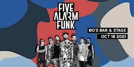 FIVE ALARM FUNK tickets