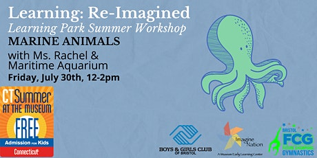 Learning Re-Imagined: Marine Animals, First Session (12:00 - 1:00) tickets