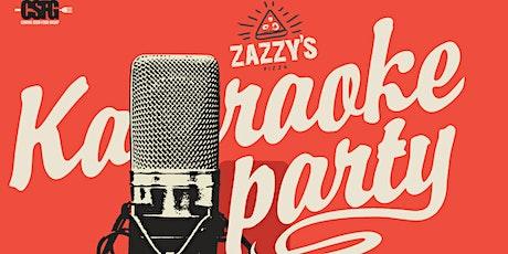 Zazzy's Pizza Presents: Karaoke Thursdays tickets