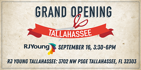 RJ Young Tallahassee Grand Opening tickets