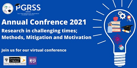 PGRSS Annual Conference 2021: Research in challenging times tickets
