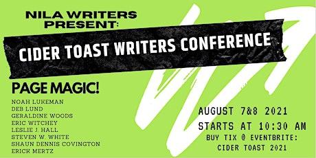 NILA Writers Cider Toast 2021 tickets