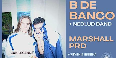 Concert B de Banco i Marshall PRD entradas