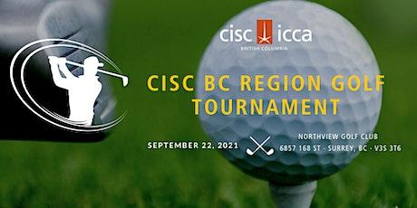 CISC BC Region Golf Day tickets