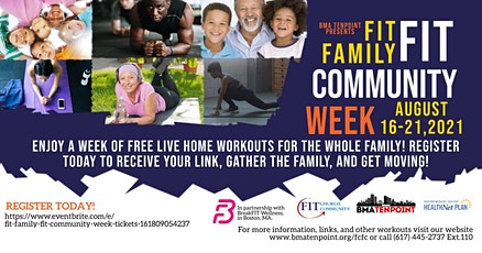 Fit Family Fit Community Week tickets