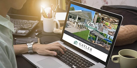Outdoor Living Space Design—LIVE Interactive Webinar tickets