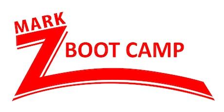 Mark Z Bootcamp tickets