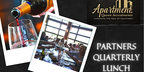 Partners Quarterly Lunch tickets
