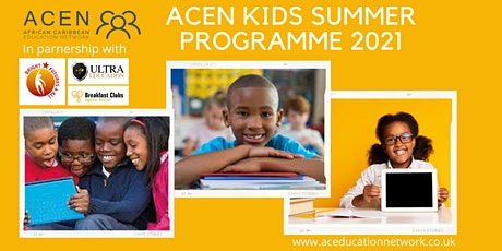 ACEN Summer Programme - Thursday 29th July 2021 tickets