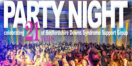 Party Night celebrating 21 years of Beds Downs Syndrome Support Group tickets