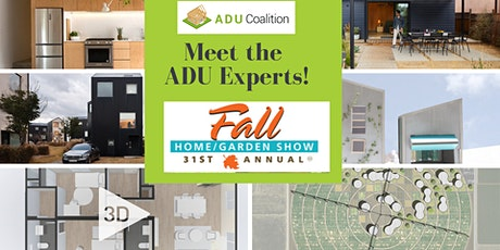 Meet the ADU Experts at the Del Mar Fall Home Show tickets
