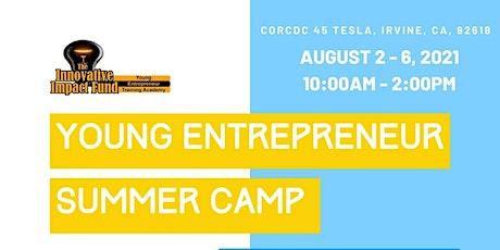 Young Entrepreneur Academy Summer Camp 2021 tickets