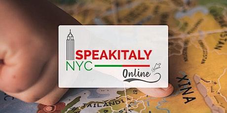 Online Italian Geography (Fall 2021) tickets