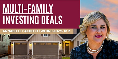 Multi-Family Investing   How to Get DEALS! tickets