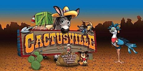 Voluntarios EBV Cactusville boletos