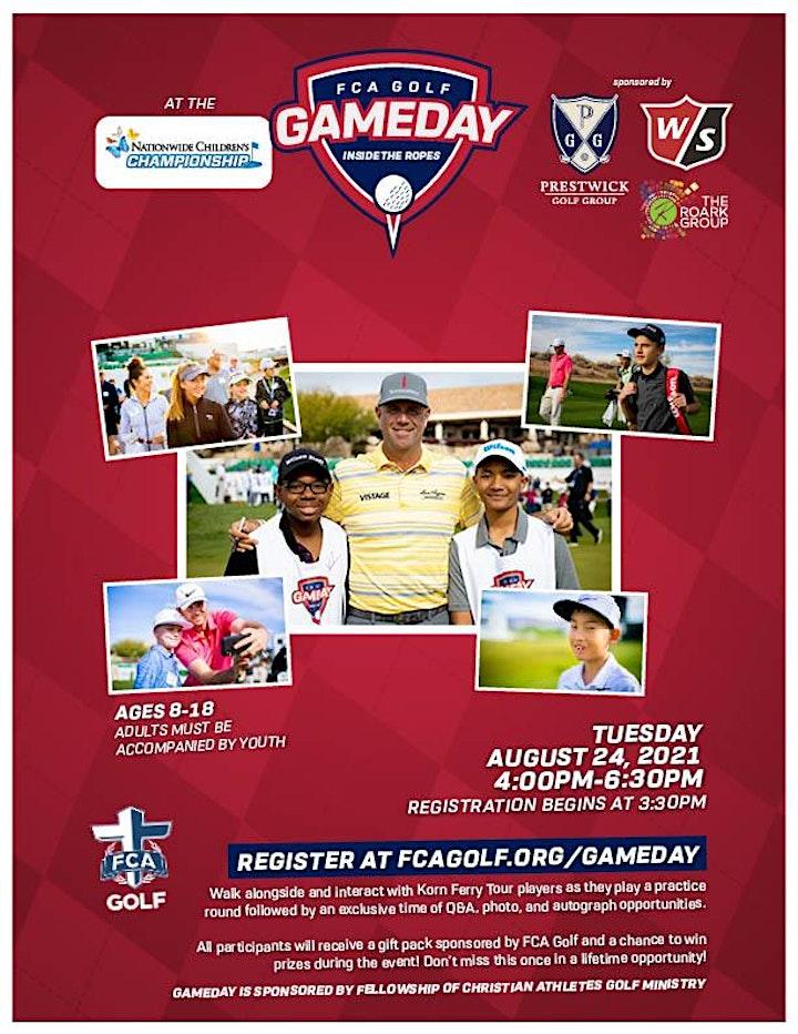 Nationwide Children's Championship 2021 GAMEDAY image
